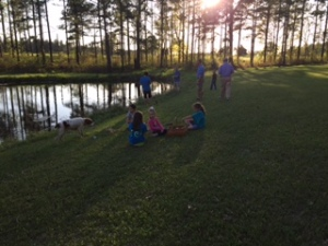 Pond_GroupSunset