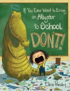 Aligator to School