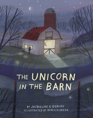 Unicorn in Barn